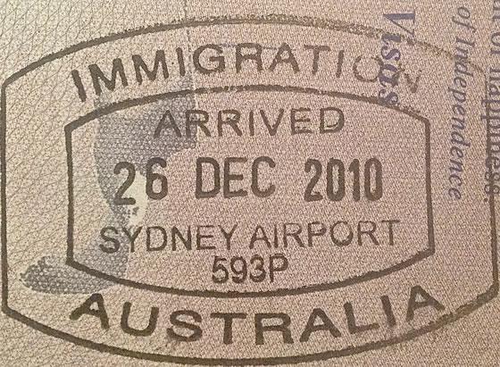 Australia entry visa